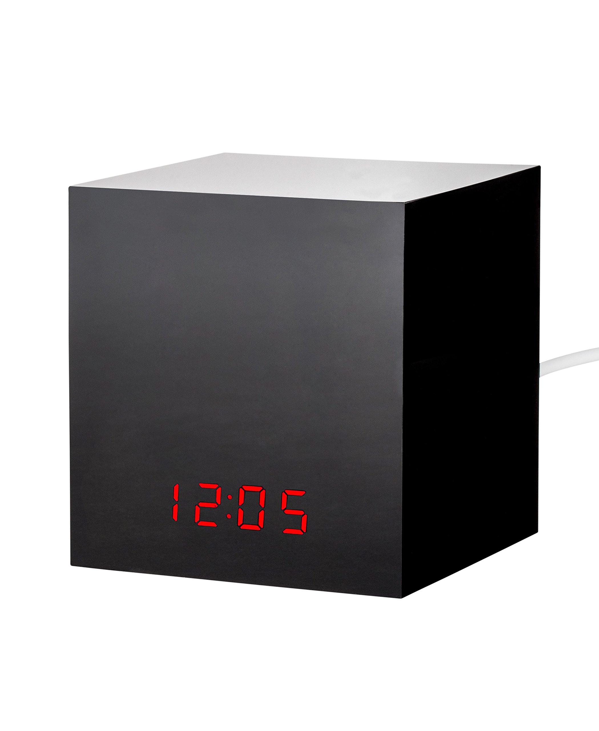 Wasserstein LED Clock Box for Hide Nest Cam/Dropcam Security Camera, Black