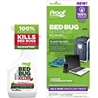 Proof Bed Bug Nest Killer - Complete Kit for Removing Surface & Deep Lying Bed Bugs & Mites from Household Items (Kit…
