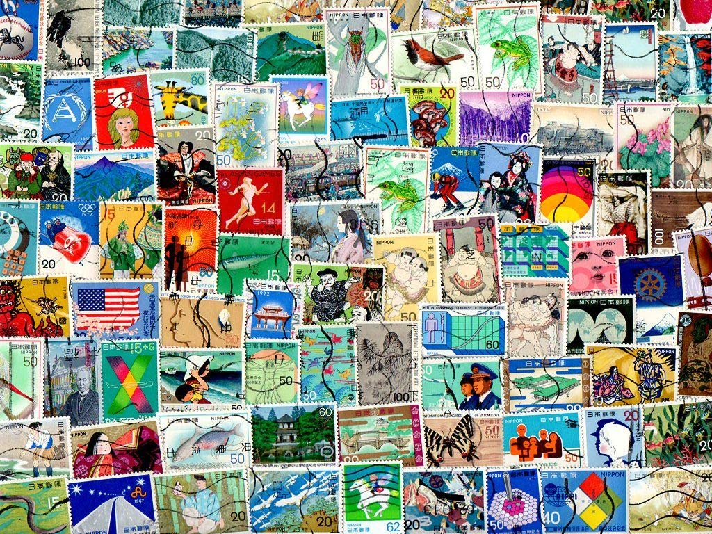 pghstamps Japan Large /& Conmemorativos 100 Colecci/ón de Diferentes Sellos para coleccionistas