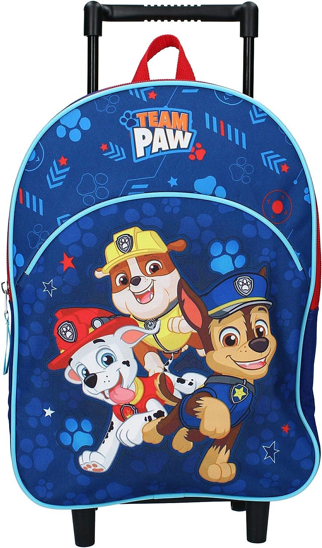 Trolley Pat Patrouille 33 cm Sac /à roulettes Paw Patrol Pups Rule