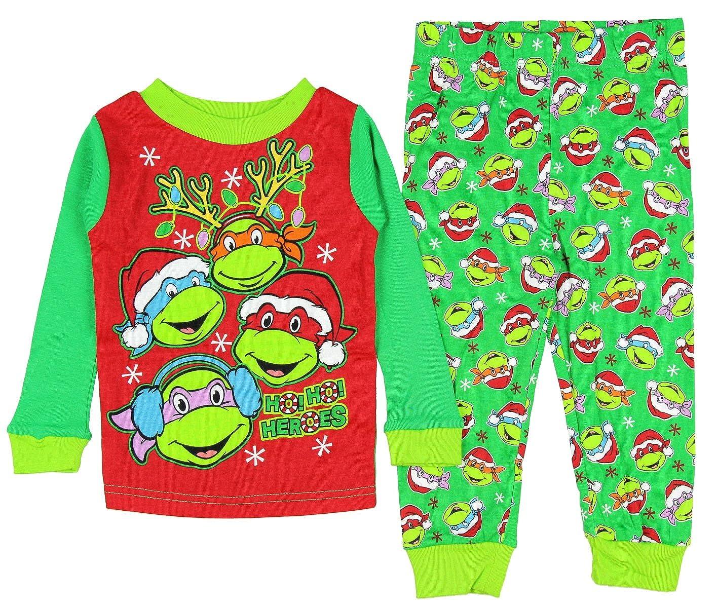 Teenage Mutant Ninja Turtles Little Boys' Christmas Pajama Sleepwear Set AME