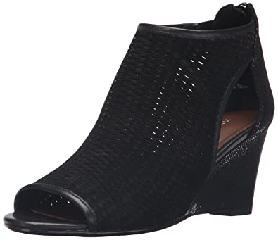 6a1ab2791 Donald J Pliner Womens Jace-Olvp Suede Peep Toe Casual Platform, Black, Size