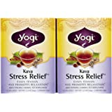 Yogi Tea Kava Stress Relief, Herbal Supplement, Tea Bags, 16 ct, 2 pk