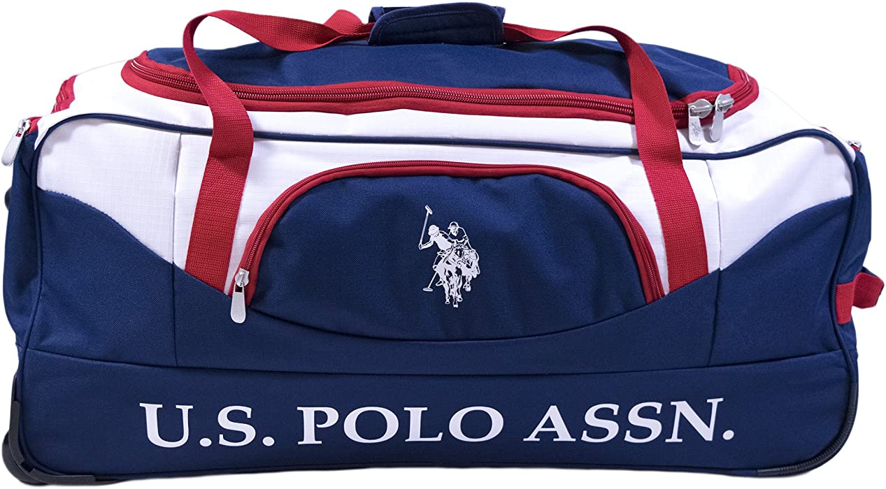 d10594fa8f05 U.S. Polo Assn. U.s. Polo Assn 30in Deluxe Rolling Duffle Bag Duffel Bag
