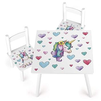 Tisch Unbekannt Stühle Leomark für Kinder Weiß und Ygy7bf6