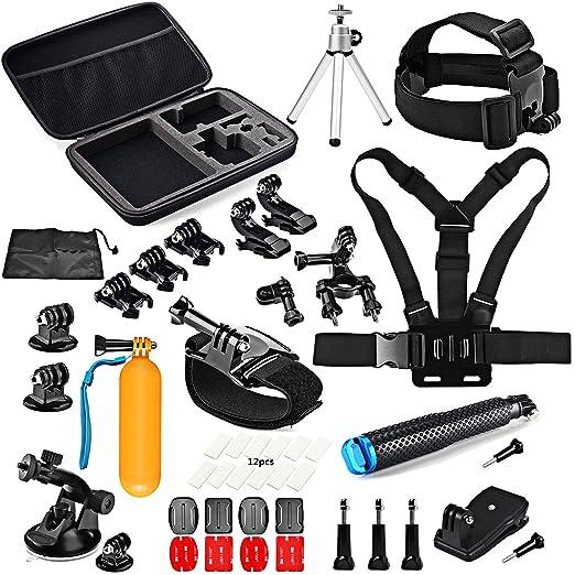 4 opinioni per SHOOT 45-in-1 Accessori Kit Outdoor Sports Kit di Action Fotocamera per GoPro