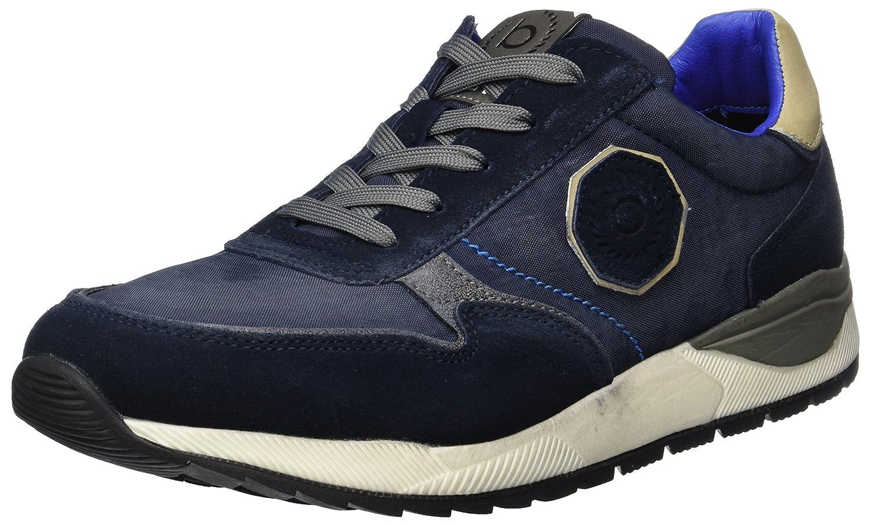 Bugatti 322287011459, Zapatillas para Hombre, Azul (Dark Blue/Blue), 42 EU