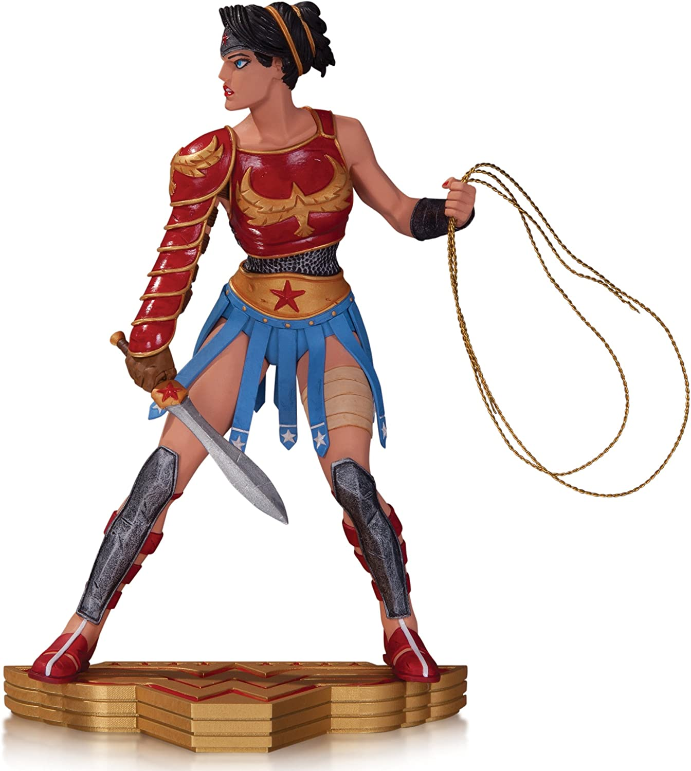 DC Collectibles Wonder Woman: The Art of War: Wonder Woman Statue by Cliff Chiang
