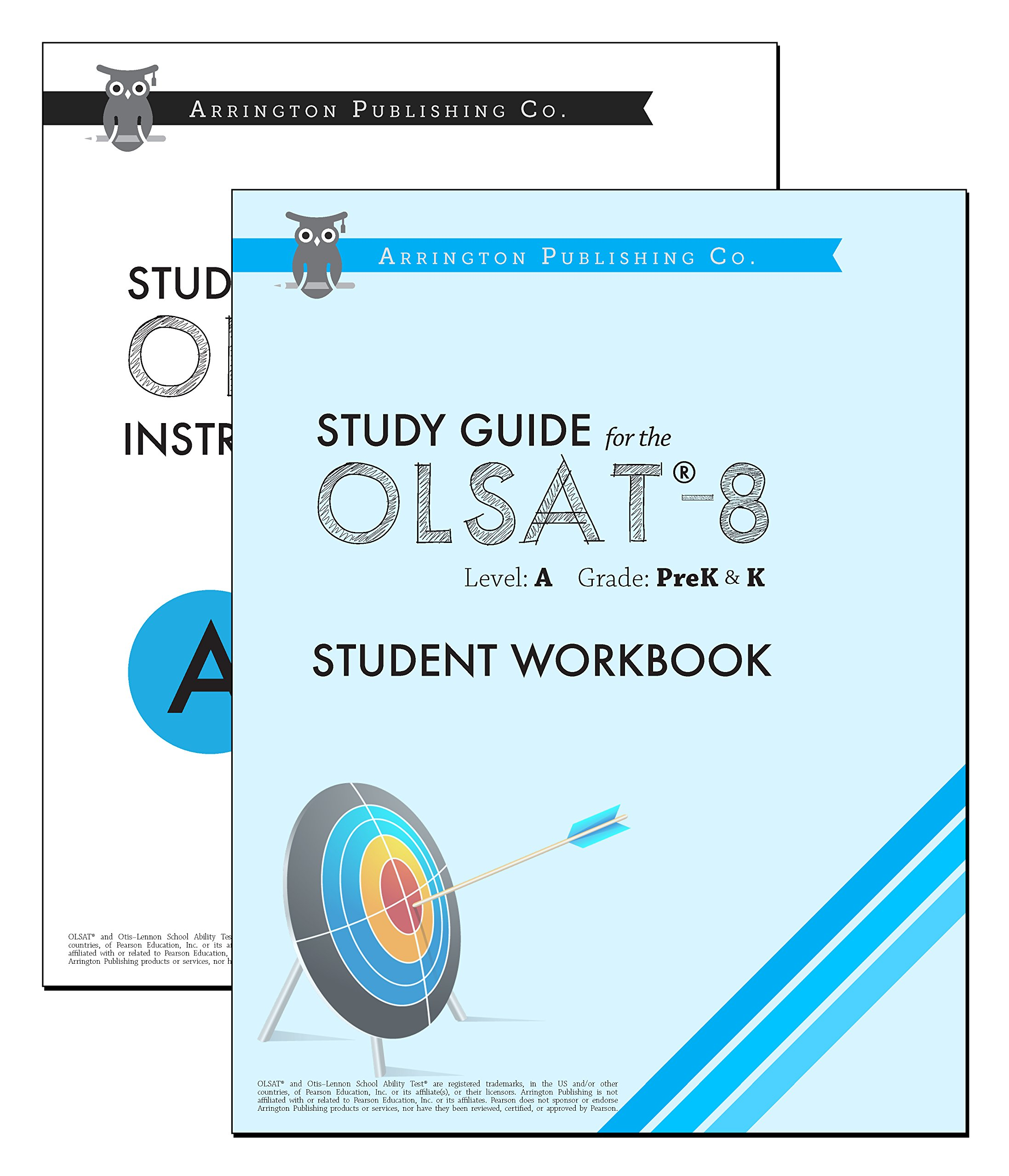 study guide for the olsat 8 level a pre k k arringtonprep rh amazon com Olsat 8 Practice Test Architectural Sheet Metal Manual