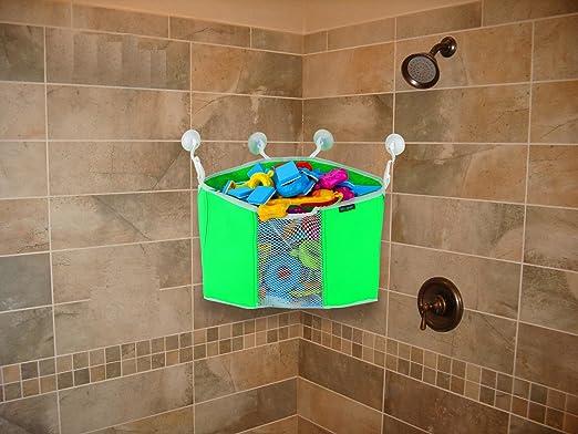 Amazon.com : Corner Toy Shower Caddy By Lebogner - Baby Bath Toy ...