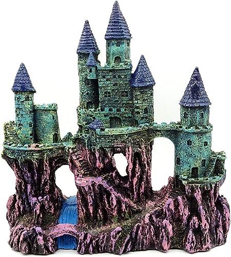 Miracliy Aquarium Castle Decoration