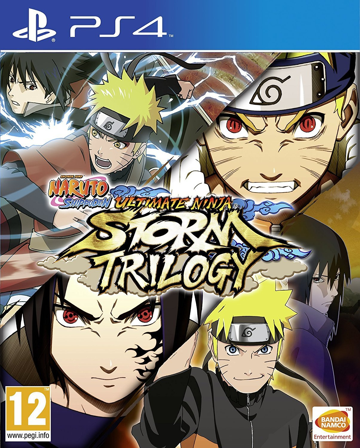 Naruto Shippuden Ultimate Ninja Storm Trilogy PS4 Game