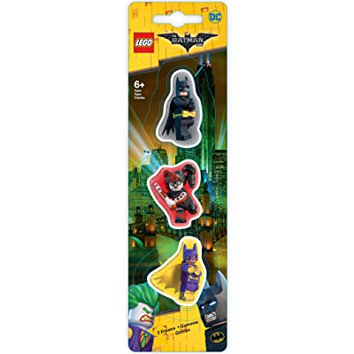 Lego LG51759 Batman Movie - Gomme Batman/Batgirl/Harley Quinn