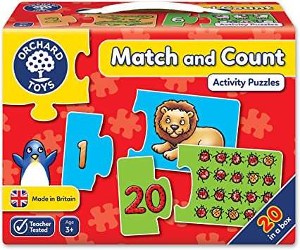 Orchard_Toys - Juego para aprender a contar (en inglés, importado del Reino Unido): Amazon.es: Juguetes y juegos