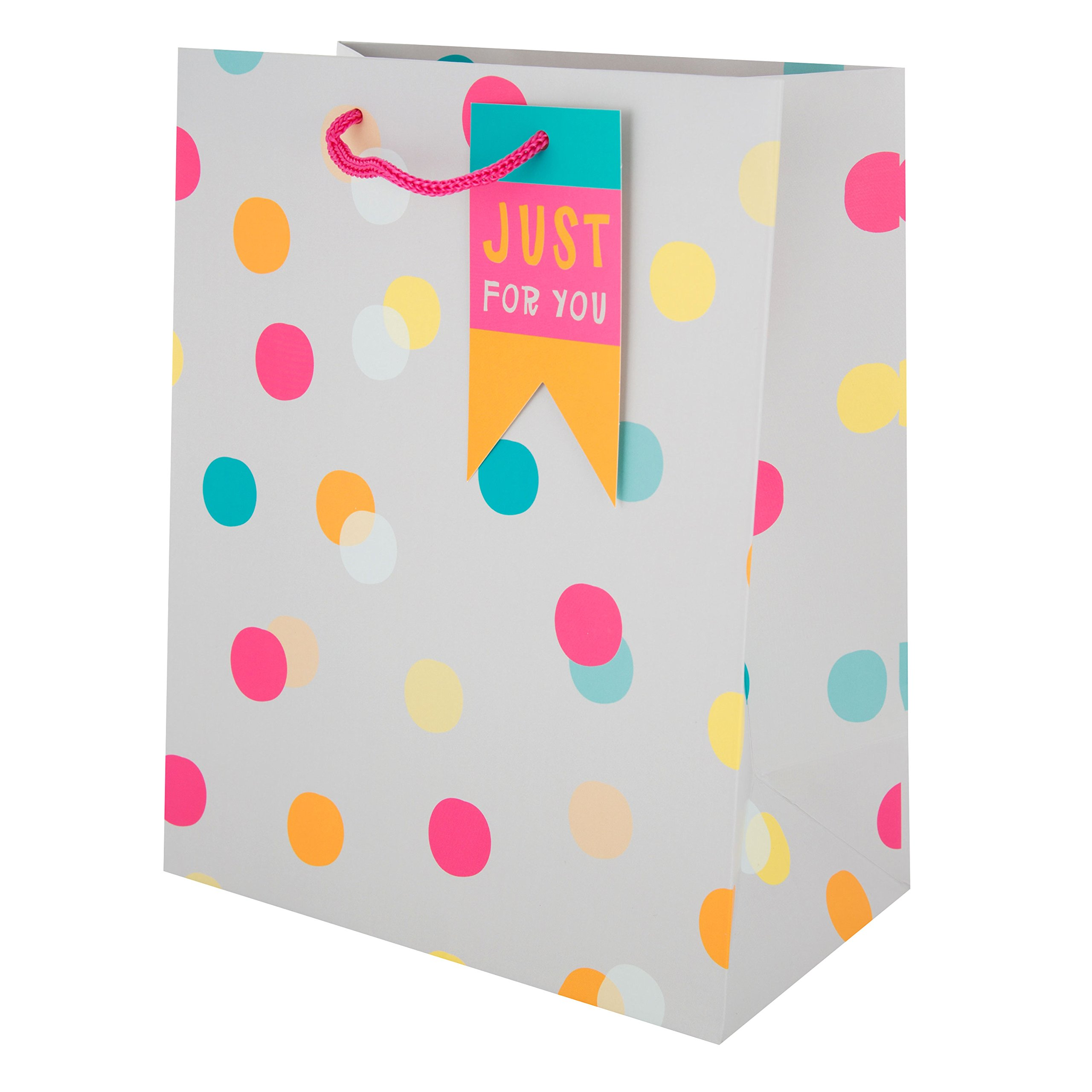 Hallmark Polka Dot Gift Bag 'For Her' - Small