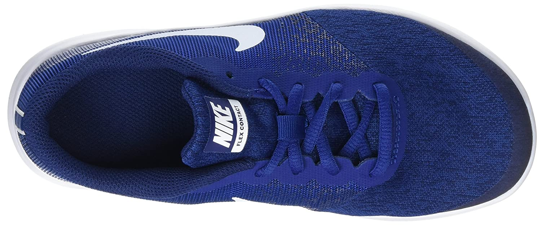 online retailer a5d3b 23cf9 Nike Flex Contact GS, Chaussures de Fitness Fille, Bleu (Gym White Binary  Blue), 38 EU  Amazon.fr  Chaussures et Sacs