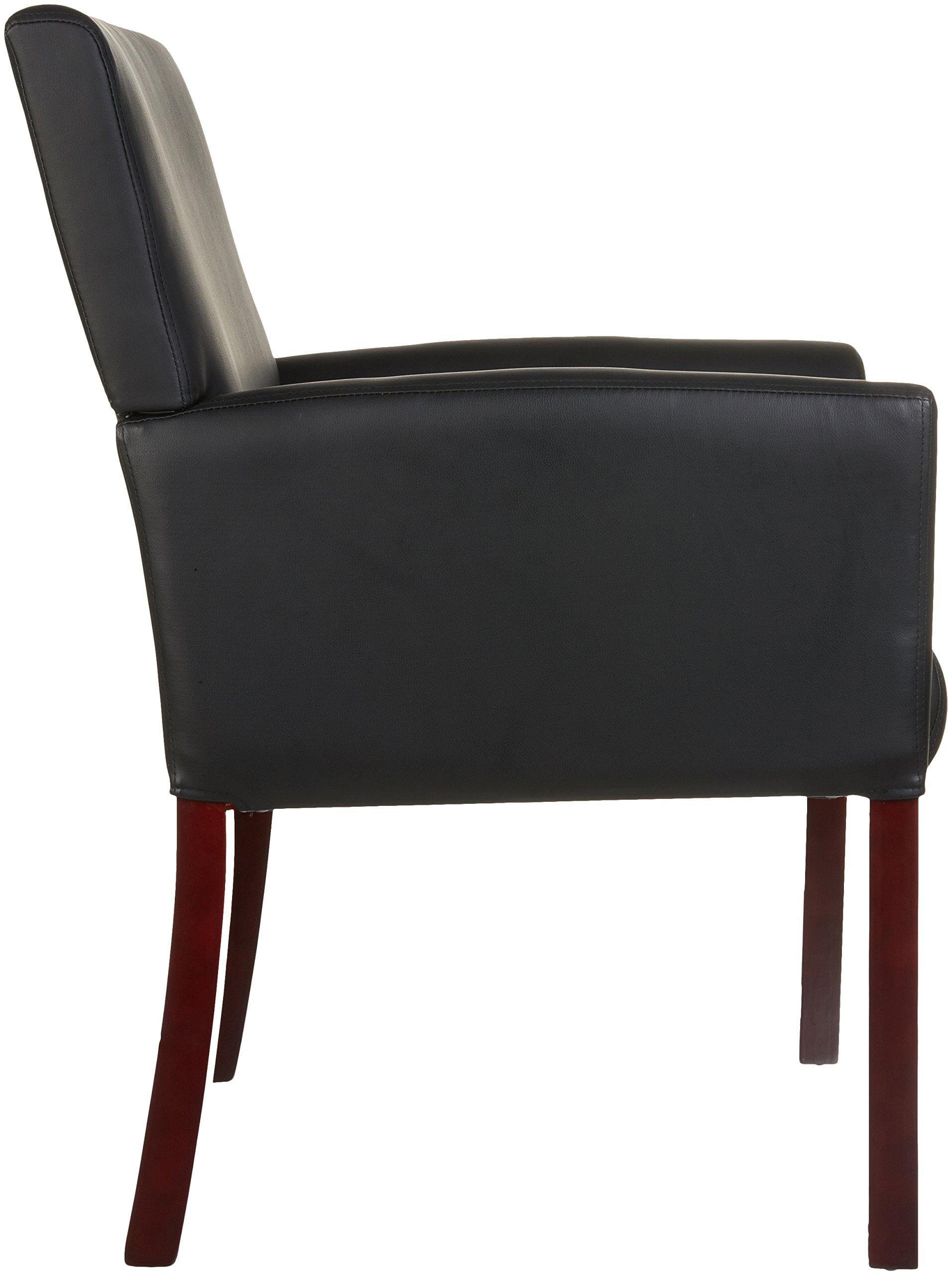 AmazonBasics Reception Chair, Black by AmazonBasics (Image #5)