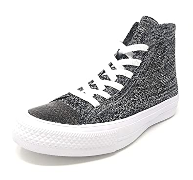 d0bf8abb37ad Image Unavailable. Image not available for. Color  Converse Chuck Taylor II All  Star ll Hi Black Wolf Grey White ...