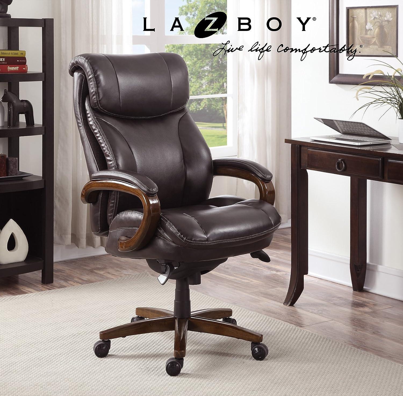Amazon La Z Boy Trafford Big & Tall Executive Bonded Leather
