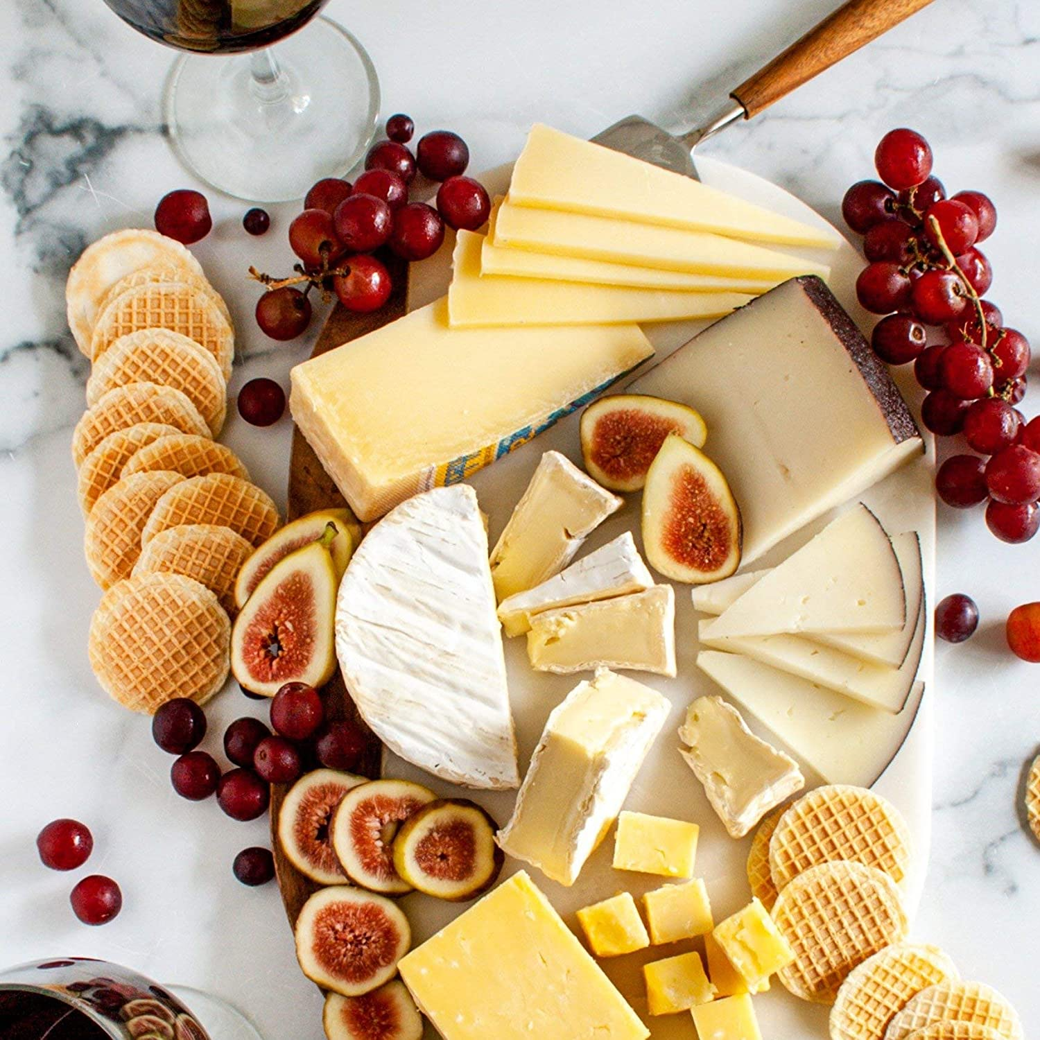 The Best of Europe Cheese Assortment (2 pound) - Finest Gourmet European Cheeses - A Variety Of French Cheese, English Cheese, Italian Cheese, and Spanish Cheese