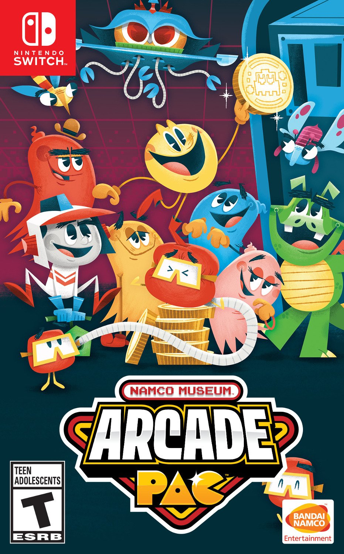 NAMCO Museum Arcade Pac for Nintendo Switch [USA]: Amazon.es: Bandai Namco Games Amer: Cine y Series TV