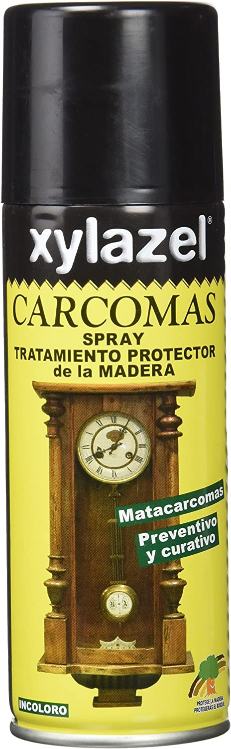 Xylazel 1010122 Tratamiento Carcomas Spray, 200 ml