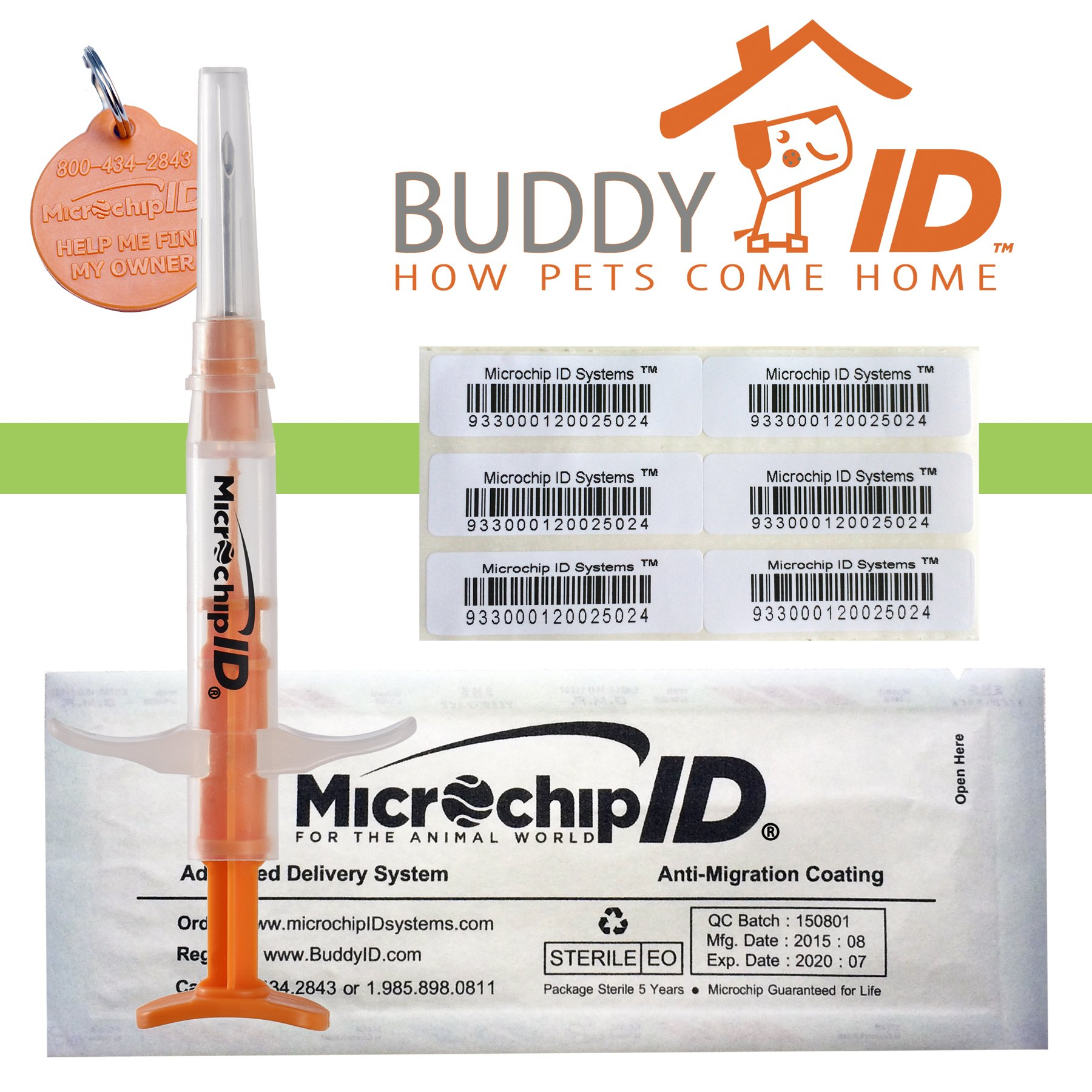 Pro-ID Microchip Pet Microchip MINI CHIP