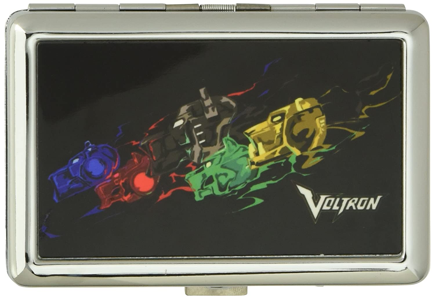 Buckle-Down Unisex-Adults Business Card Holder-Voltron Multicolor 3.7 x 2.5