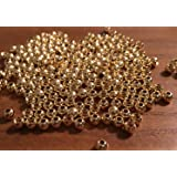 Prime Fish Co. Brass Fly Tying Bead Heads 100 Count