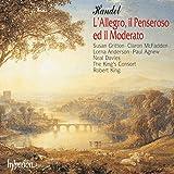 Handel: L'Allegro, il Penseroso ed il Moderato /Gritton · McFadden · Anderson · Agnew · N Davies · King's Consort · King