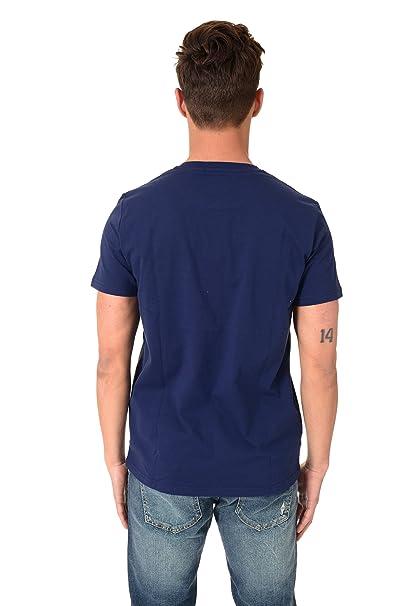 Fred Perry - Camiseta - para Hombre Azul XXL: Amazon.es: Ropa y ...