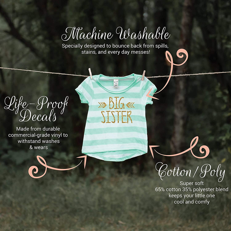 Big Sister Gift Bump and Beyond Designs Big Sister Shirt Baby Girl Clothes