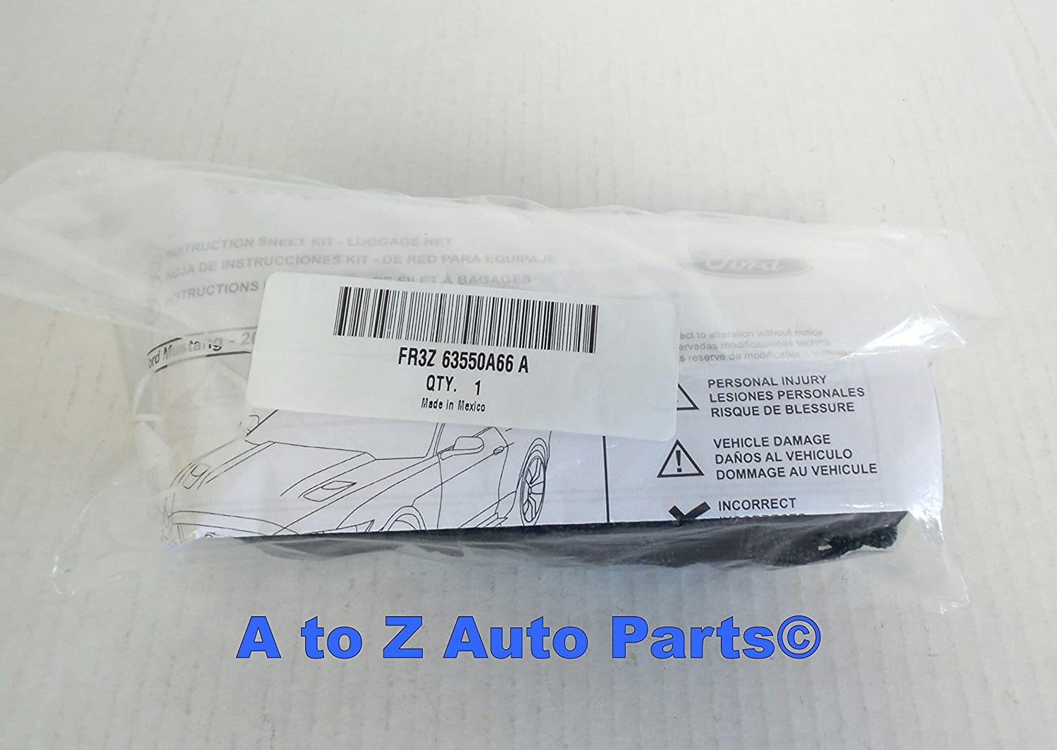 Genuine Ford FR3Z-63550A66-A Cargo Net
