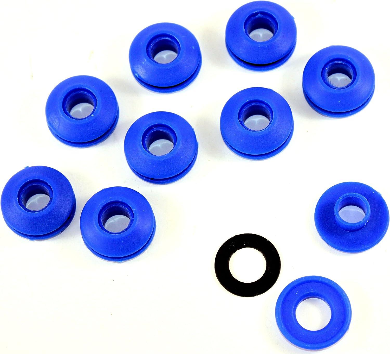 30 Kunststoff /Ösen Innen /Ø 11,5 mm Rund/ösen Planen/ösen Schnapp /Öse f/ür Planen
