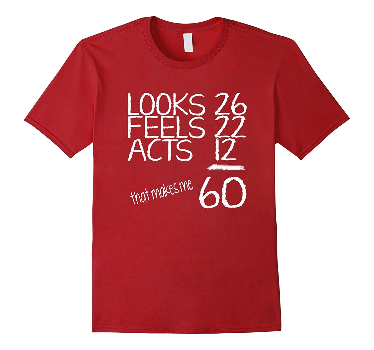 60th birthday gifts for him or her t shirt-PL