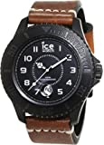 ICE-Watch - HE.BN.BM.B.L.14 - Ice Heritage - Montre Homme - Quartz Analogique - Cadran Marron - Bracelet Cuir Marron