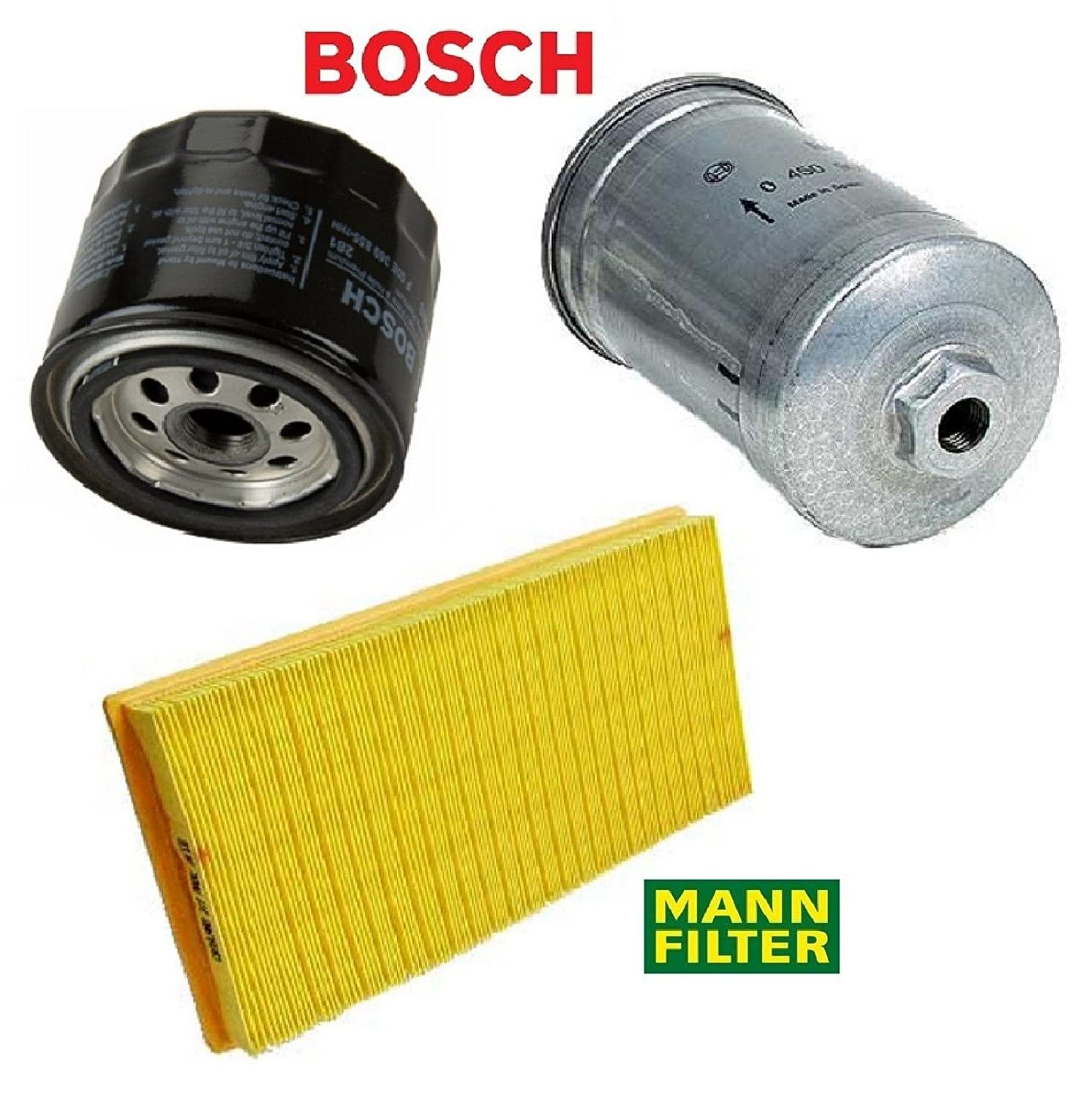 Tune Up Kit Air Oil Fuel Filters for Volvo 240 1990-1993