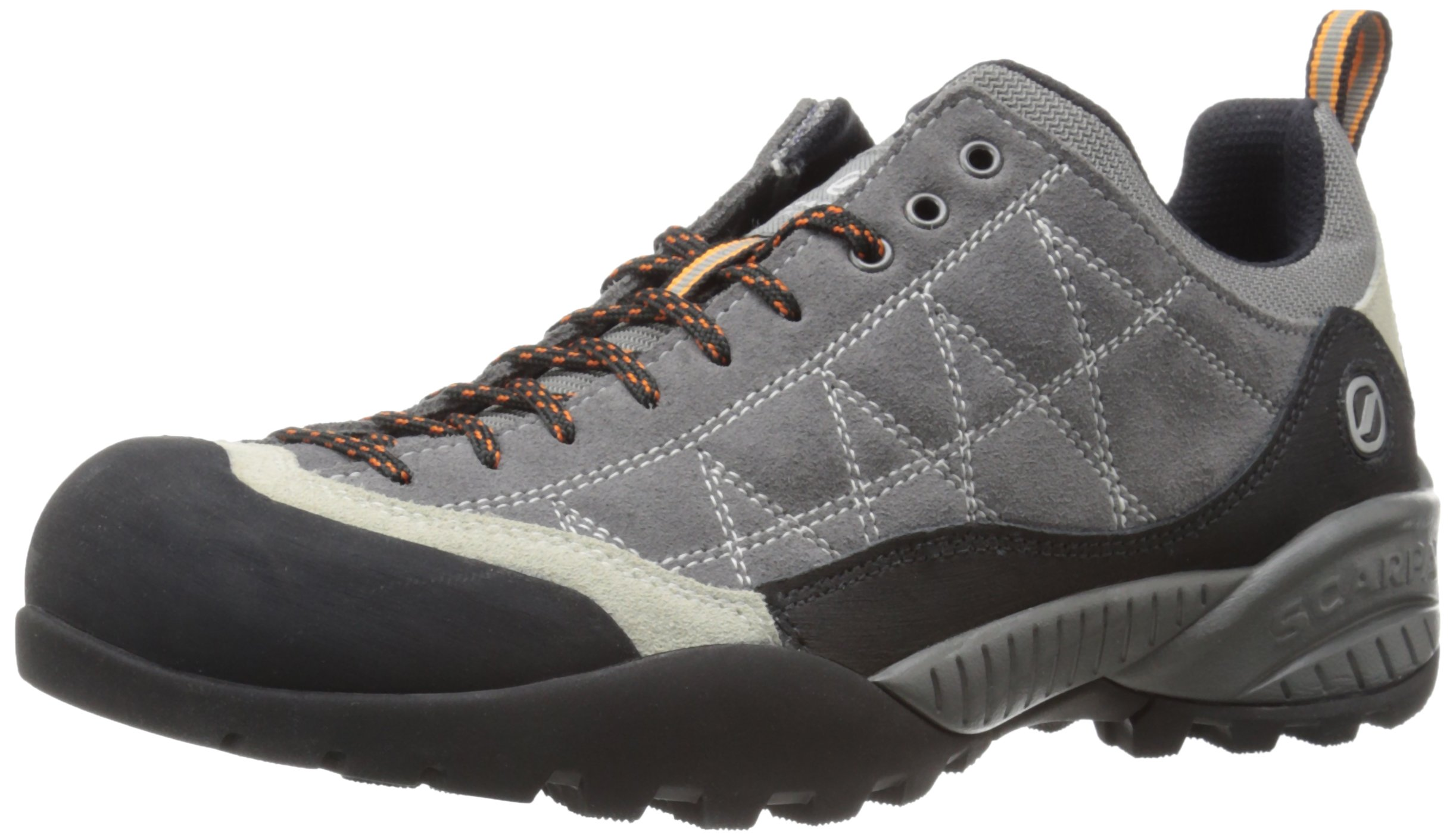 Scarpa Men's ZEN Hiking Shoe, Smoke/Fog, 40 EU/7.5 M US