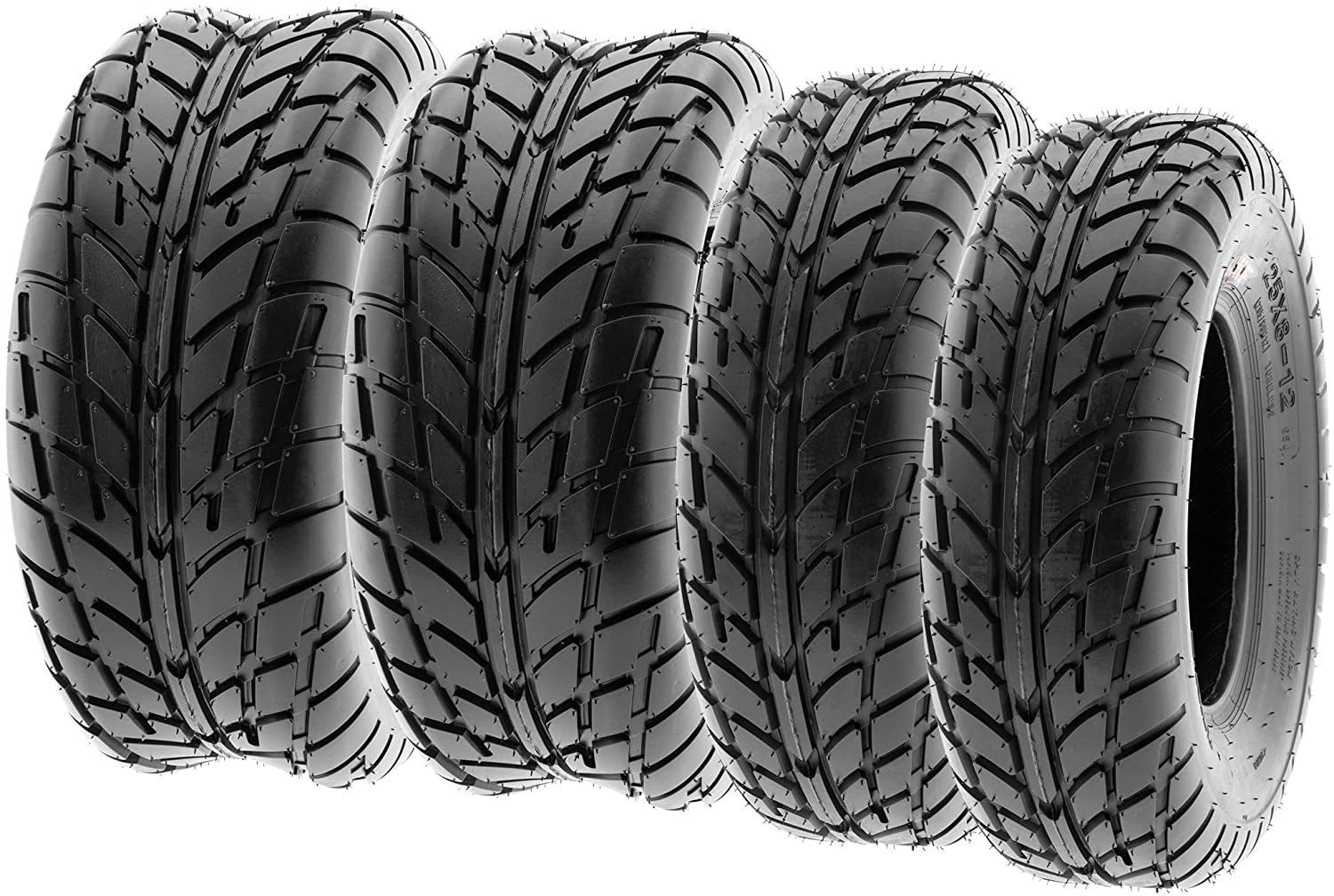 A027 Set of 4 SunF 21x7-10 /& 20x10-9 ATV UTV Quad Tyres 6 PR Front and Rear Tires