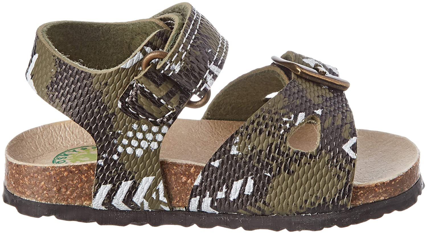 Green Pablosky Boys Open Toe Sandals Verde 590180 4.5 UK