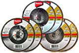 Makita 6 Piece - Multi Grit Flap Disc Set For