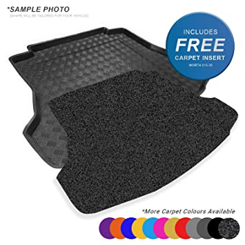 Rcz Black Black Tailored Floor Car Mats Carpet //Rubber