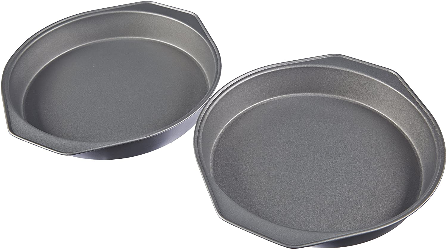 AmazonBasics Carbon Steel Cake Pan - 2-Pack 78177