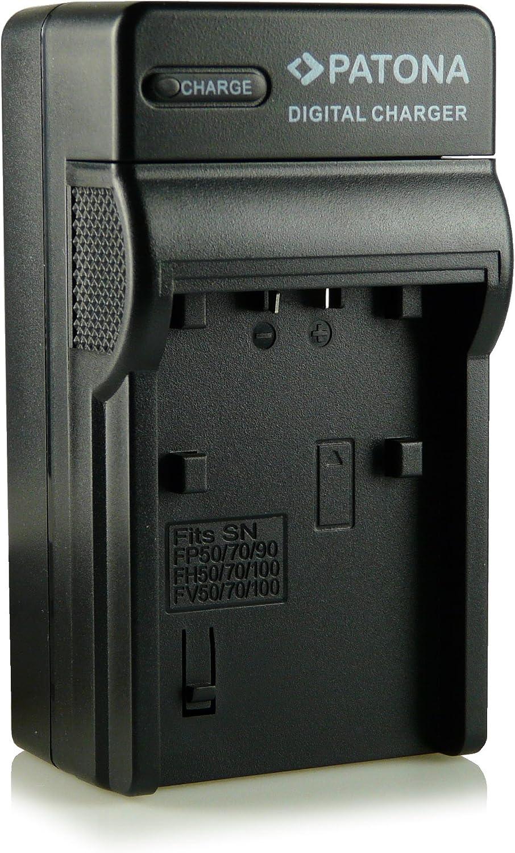 3in1 Ladegerät 100 Kompatibel Mit Np Fh30 Np Fh40 Kamera