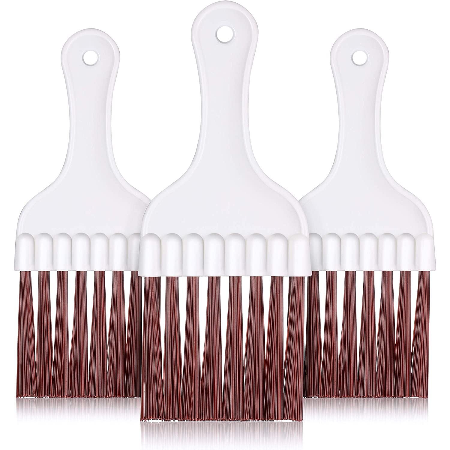 3 Pieces Air Conditioner Condenser Fin Cleaning Brush, Refrigerator Coil Cleaning Whisk Brush (3 Pieces)