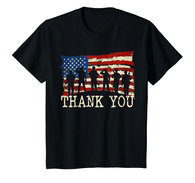 American Flag TShirts Thank you Veterans