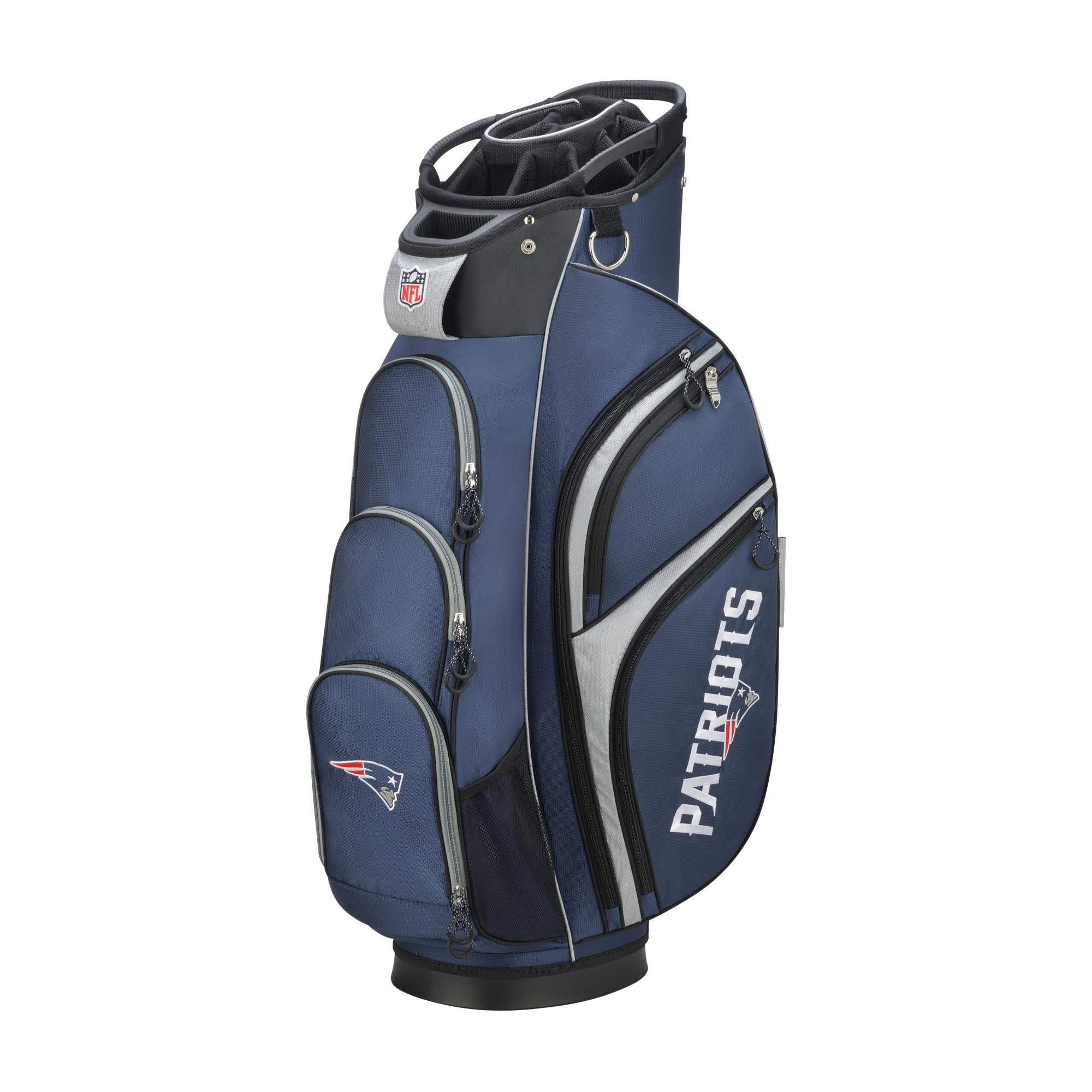 Wilson 2018 NFL Golf Cart Bag, New England Patriots by Wilson