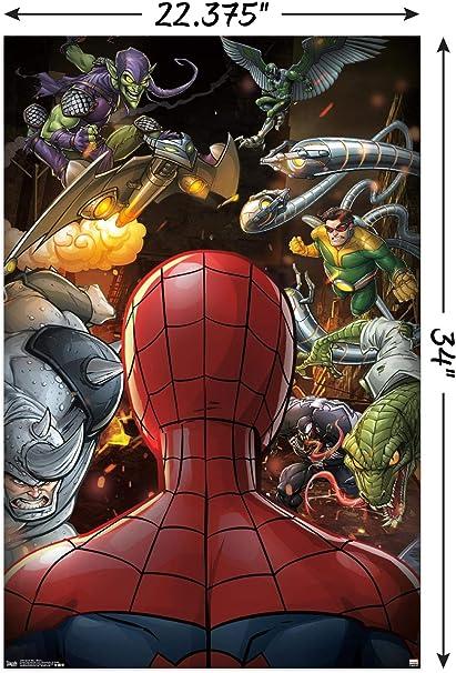 Amazon Com Trends International Spider Man Villains Wall Poster 22 375 X 34 Posters Prints