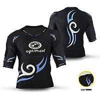 OPTIMUM Abbigliamento protettivo per rugby Tribal con imbottitura sulle spalle