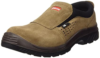 Bellota Non Metal 7227 S1P SRC- Zapatos sin Cordones, Color marrón, Talla 45